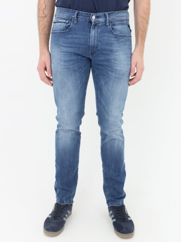Grover Hyperflex Jeans - Light Wash