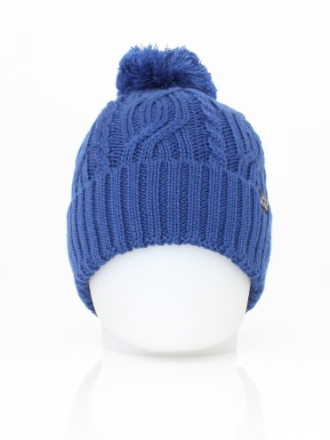 Stormlock Pompom Beanie - Royal Blue