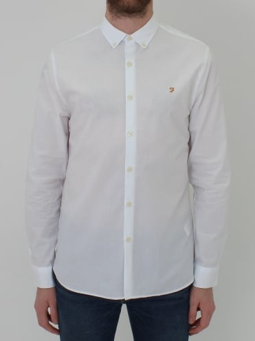 Libbert Long Sleeve Shirt - White