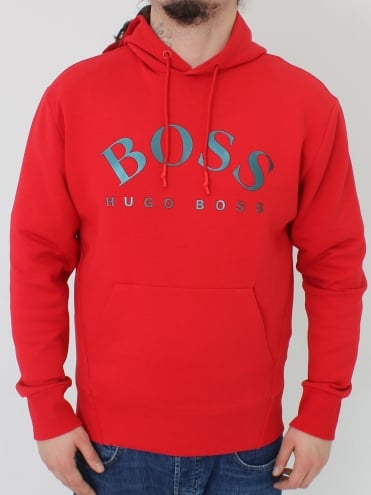 Sly Hooded Sweat - Medium Red