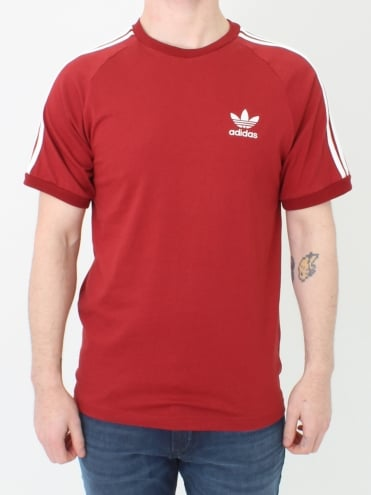 3 Stripes T.Shirt - Rust
