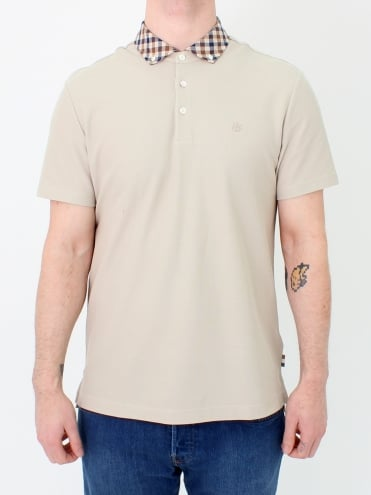Coniston Club Check Polo - Beige