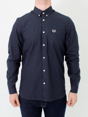 Classic Oxford Shirt - Black