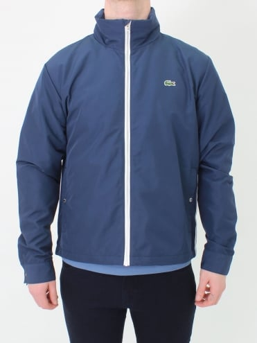 Jacket - Navy/White