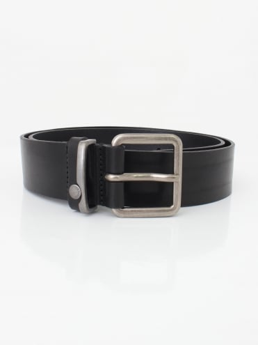 Katchup Leather Belt - Black