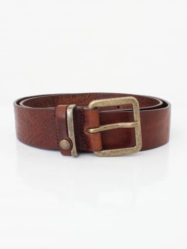 Katchup Leather Belt - Tan