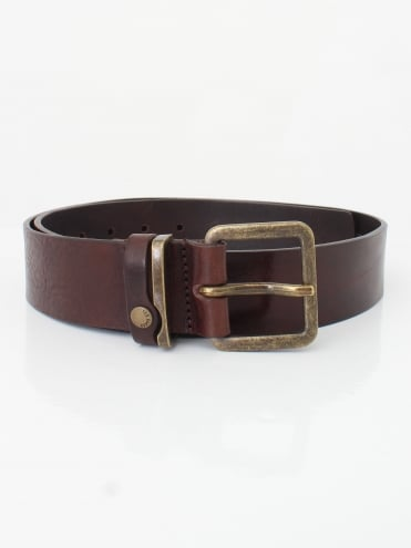 Katchup Leather Belt - Chocolate