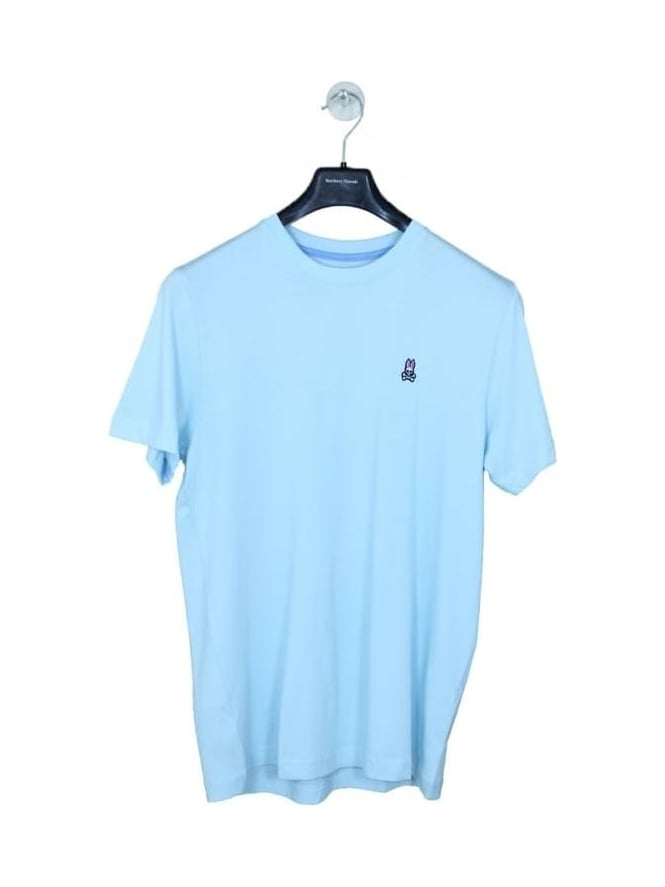 Psycho Bunny Classic Crew Neck T.Shirt - Blue Point