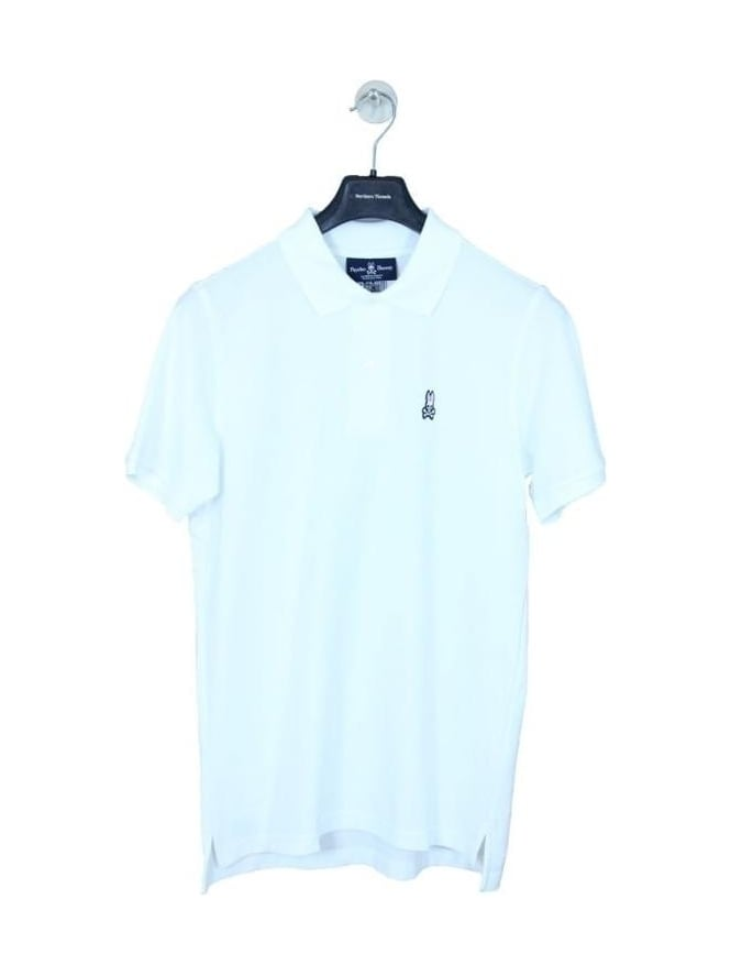 Psycho Bunny Classic Polo - White