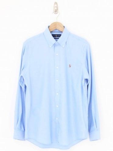 Ralph Lauren Classic Oxford Shirt - Light Blue