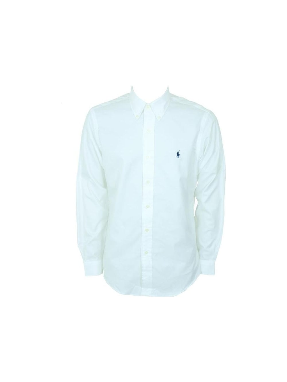 7557b72e Polo Ralph Lauren Custom Fit Solid Twill Shirt - Shop Online ...