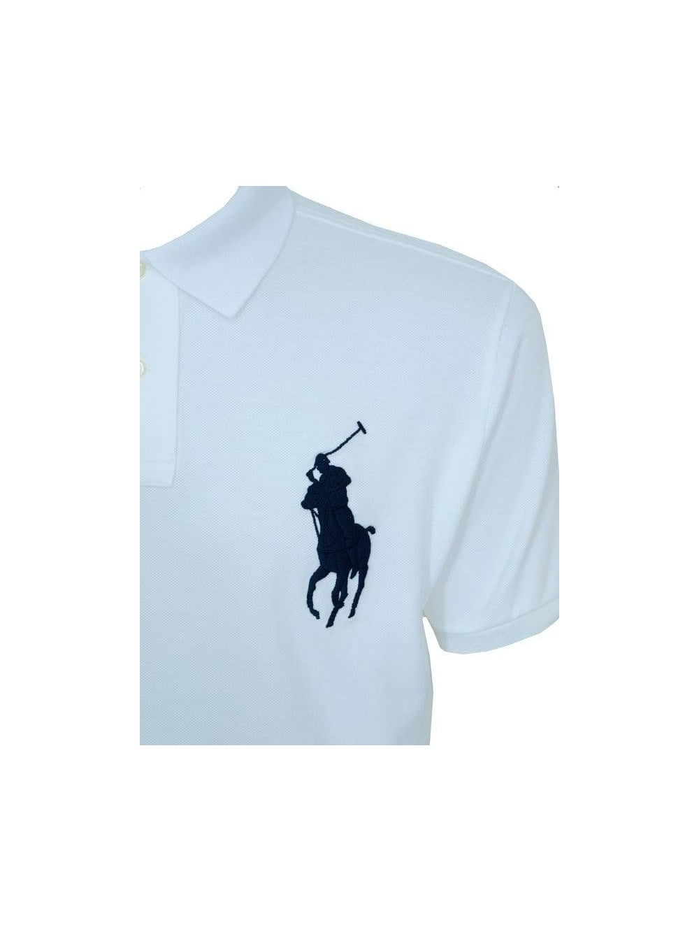 Big White Polo Wimbledon Big Pony Wimbledon Polo Pony White 5AL4R3j