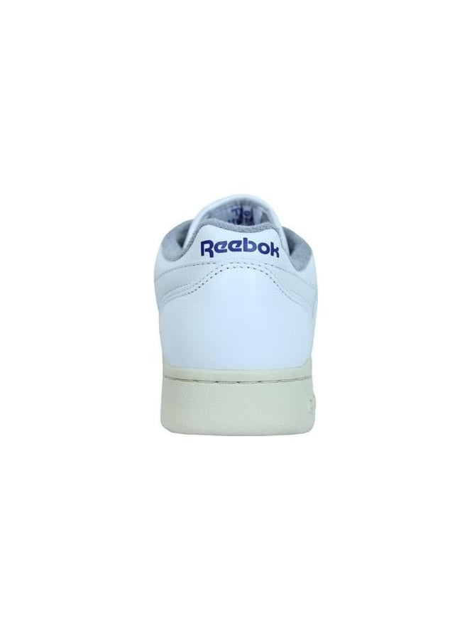 57dec5c87607d Reebok Workout Plus Trainers in White - Northern Threads