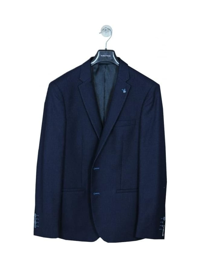 Remus Uomo Torelli 2 Button Jacket - Dark Navy
