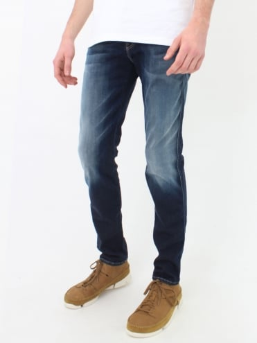 Anbass Hyperflex Jeans - Blue/Black