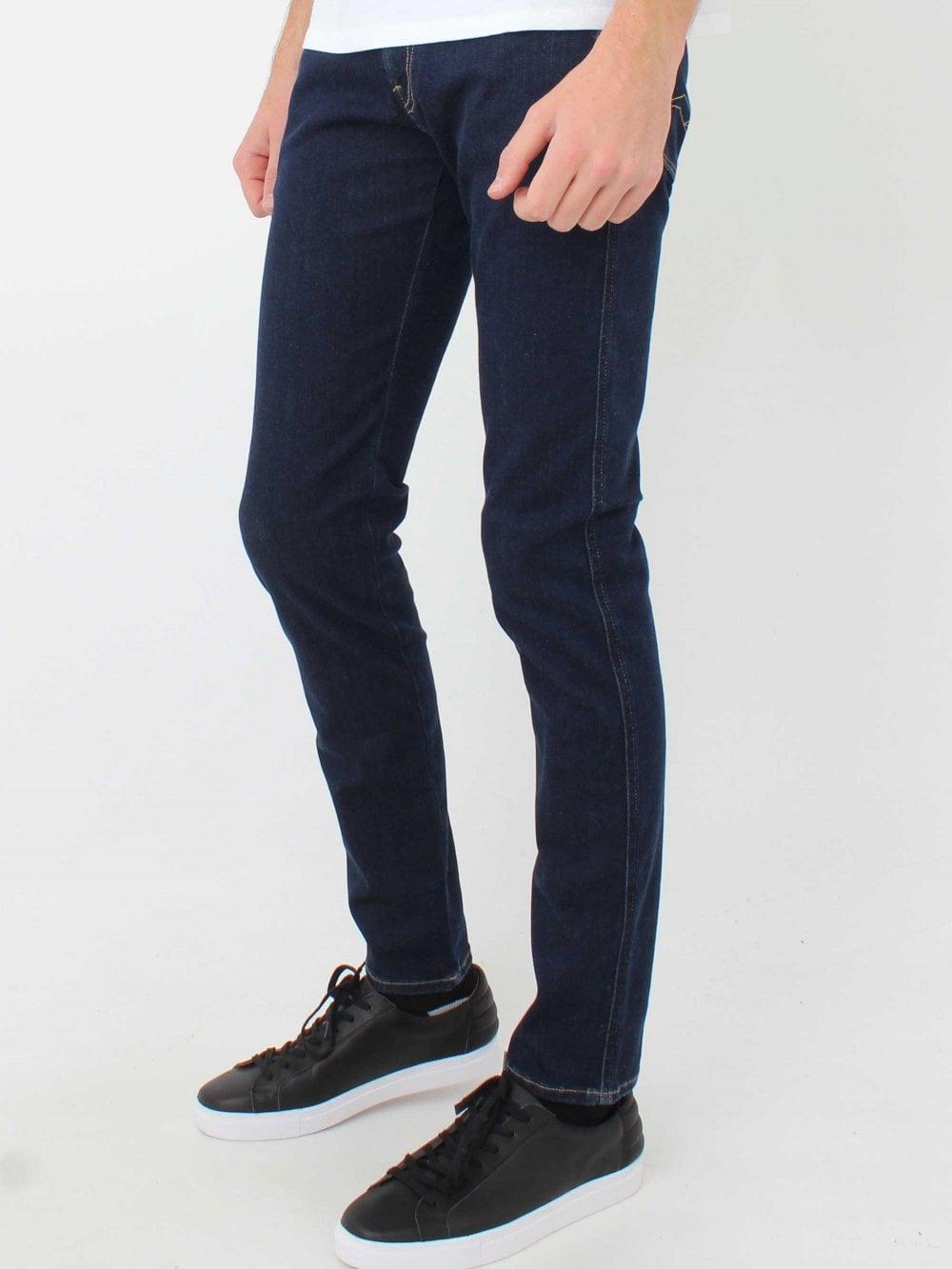 05d5e38b8 Replay Anbass Hyperflex Jeans in Dark Blue | Northern Threads