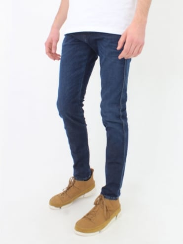 Anbass Hyperflex Jeans - Dark Denim