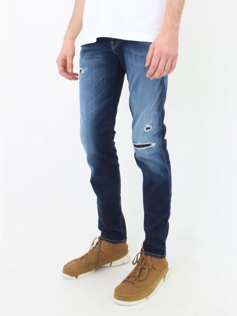 ffed910ca Replay Anbass Hyperflex Jeans in Mid Wash | Northern Threads