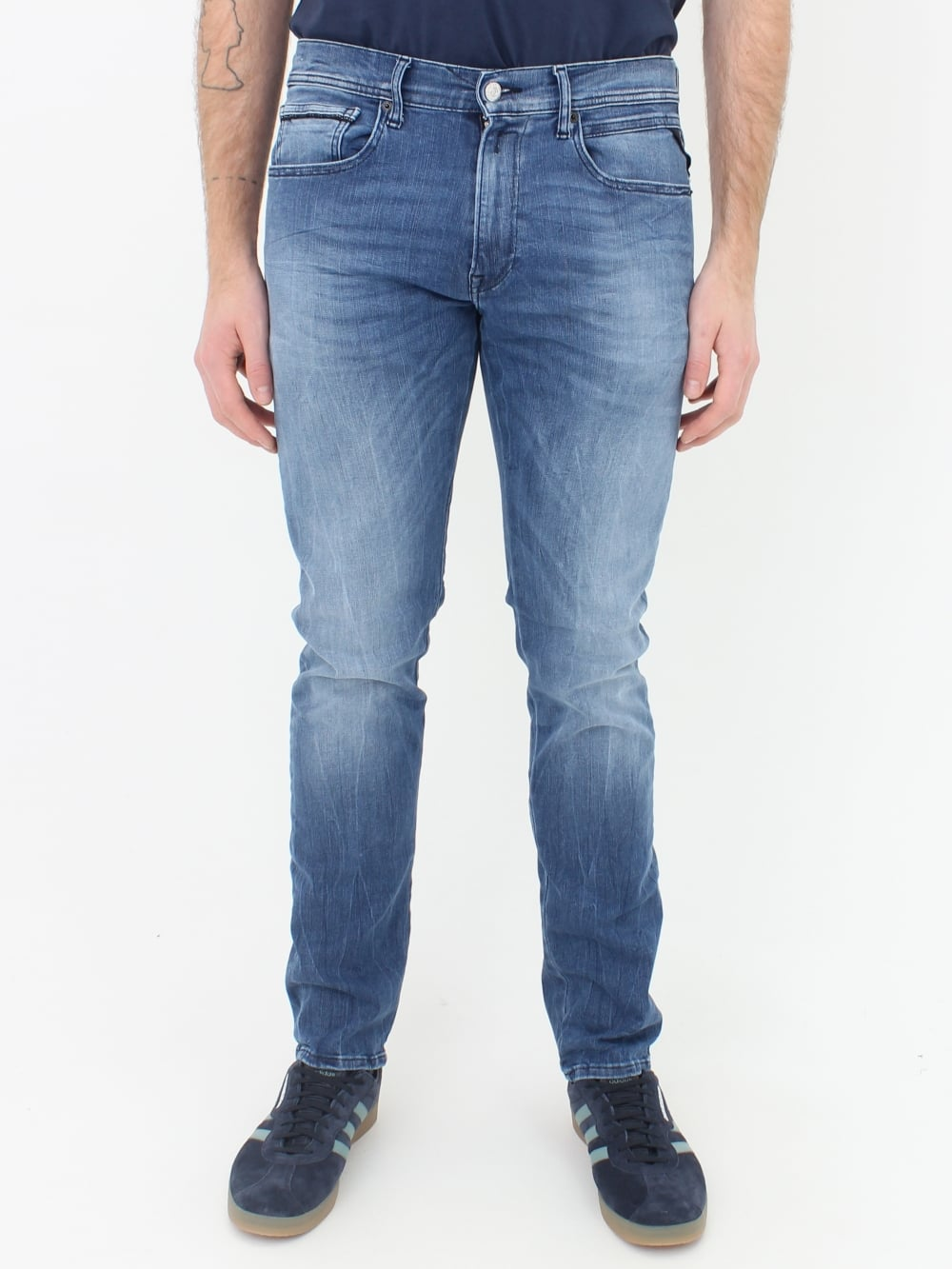 Robe en jean replay