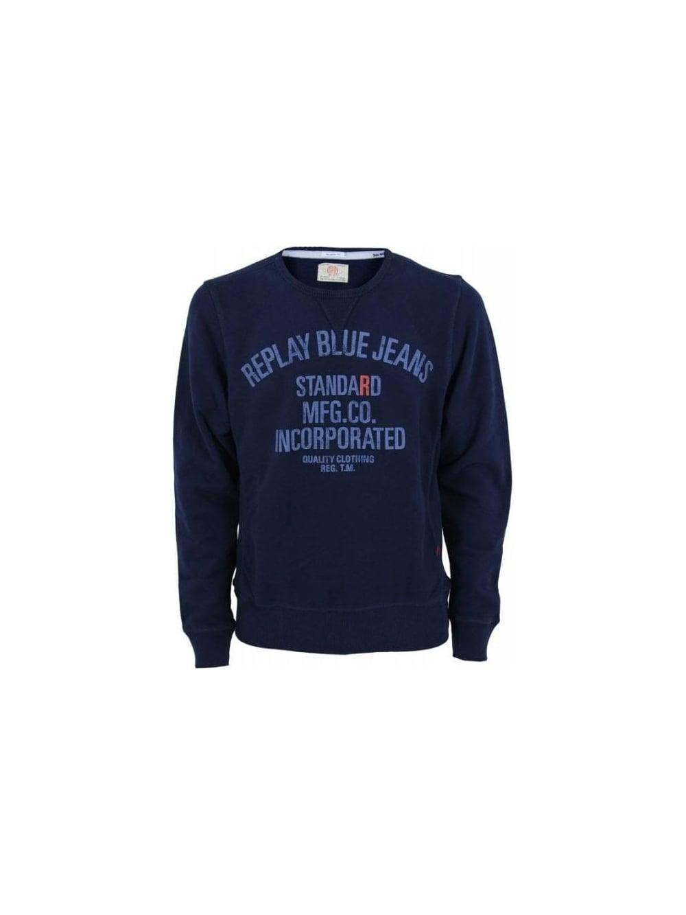 timeless design f784b 7da71 Standard MFG CO Sweatshirt - Navy