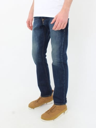 Waitom Regular Fit Jeans - Deep Blue