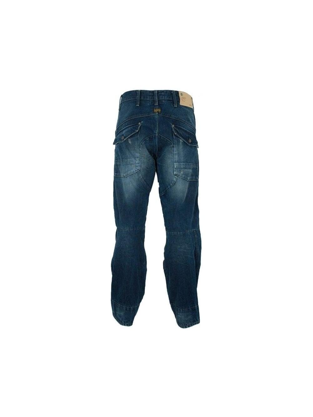 g star raw scuba 5620 loose jean trash worn mens designer jeans at northern threads. Black Bedroom Furniture Sets. Home Design Ideas