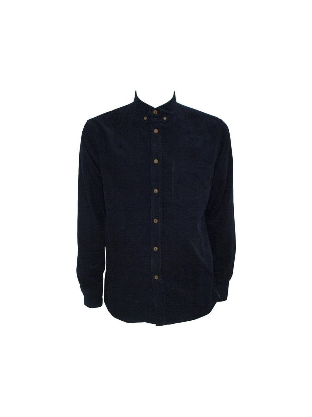 Selected Selected Acre Long Sleeve Shirt Navy Selected Mens