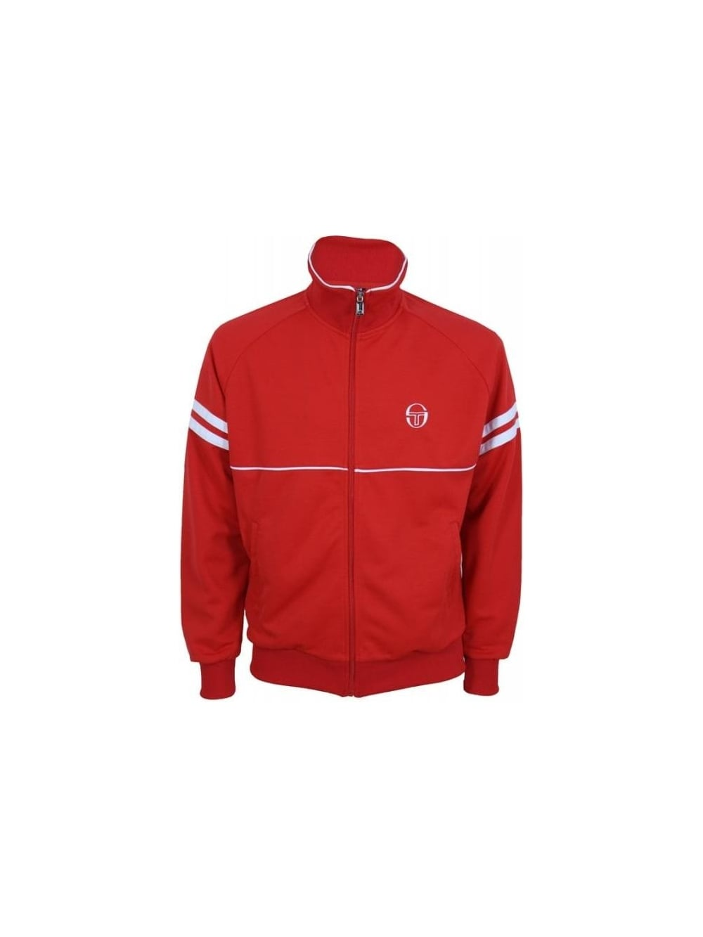 8777c55c Sergio Tacchini Nord Star Track Top in Flame - Northern Threads
