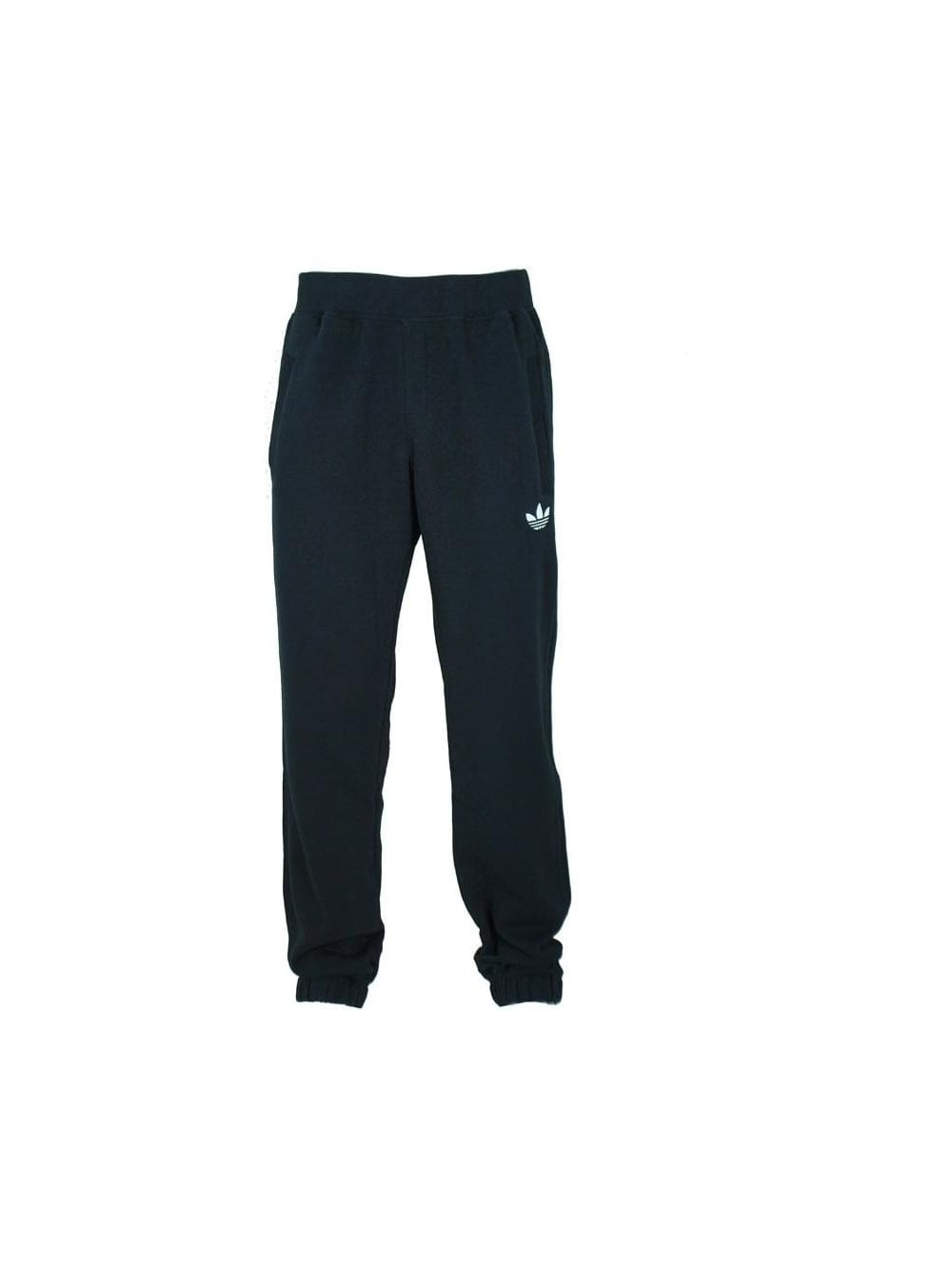 Mens Adidas Originals Sport Fleece Track Pants Black