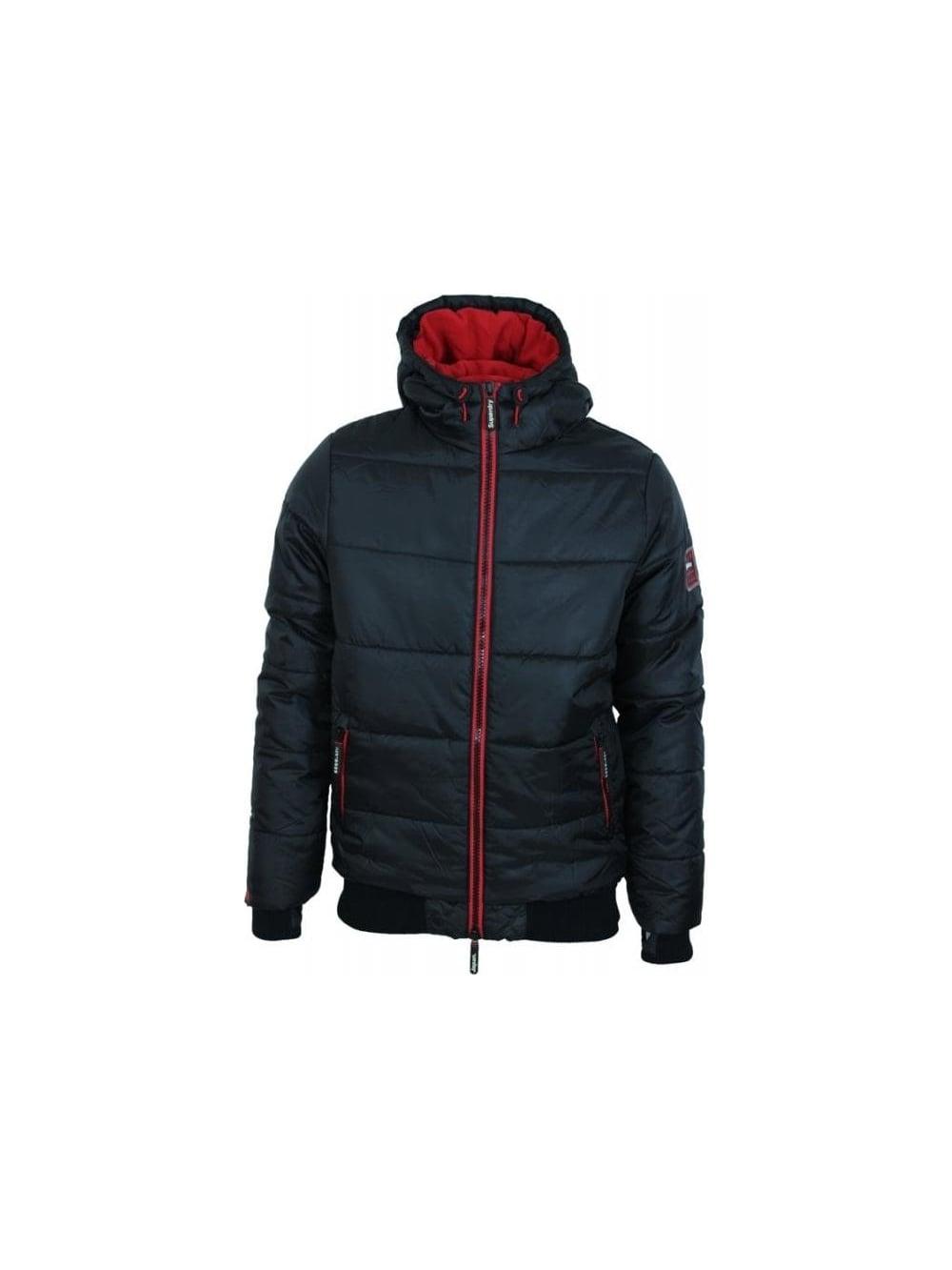 Blackred Sports Threads Jacket Polar Northern Superdry In Puffer w6xaXq1
