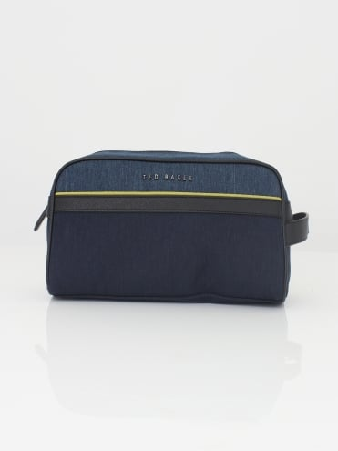 Caramac Nylon Washbag - Navy