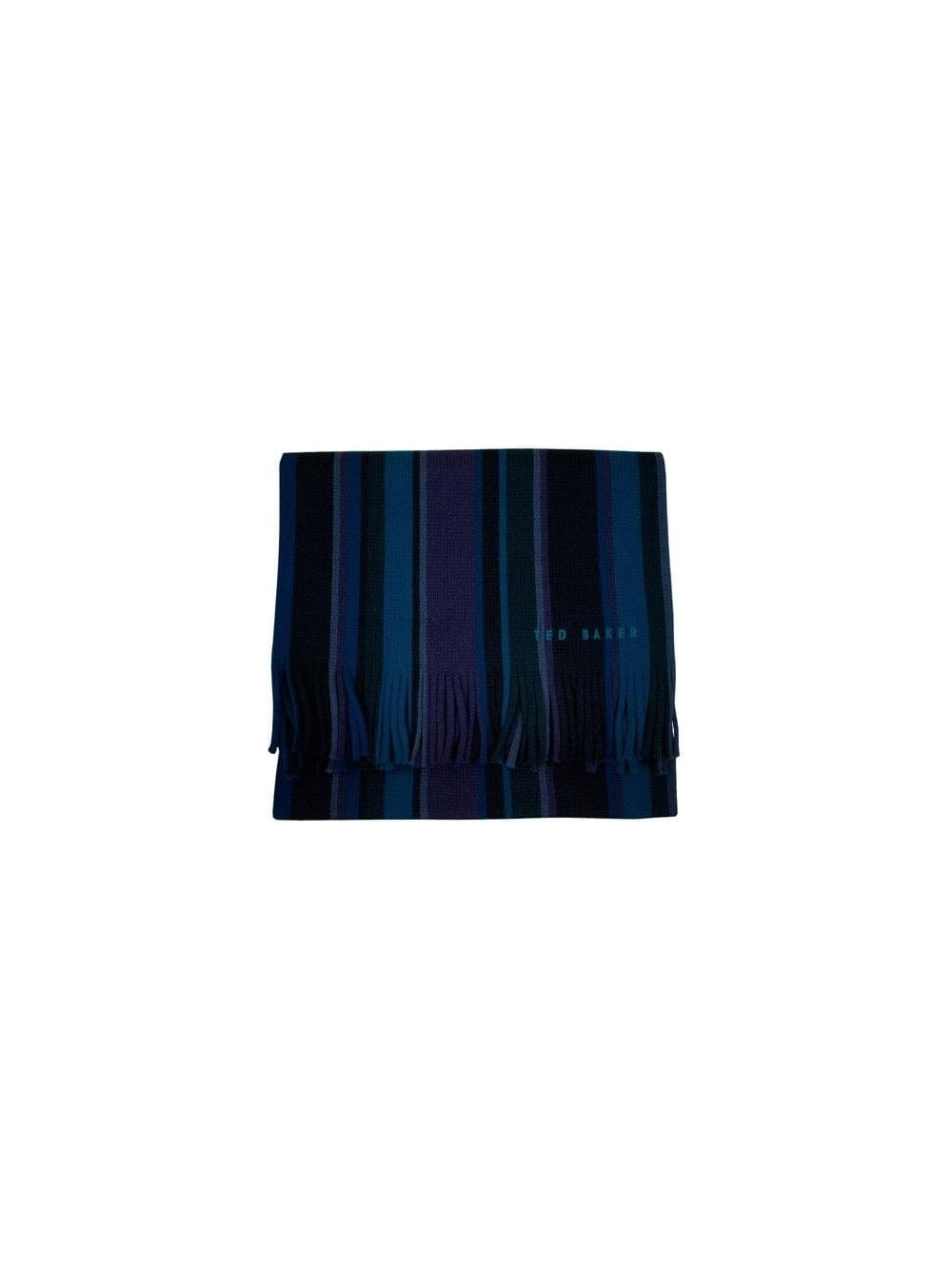 a3311b3d68f8a Ted Baker - Ted Baker Coprobs Multi Stripe Scarf - Navy - Ted Baker ...