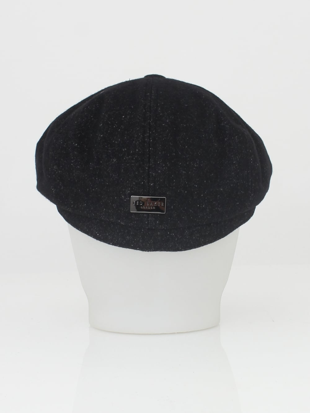 51419c999af Ted Baker Gladstone Wool Baker Boy Cap in Charcoal - Northern Threads