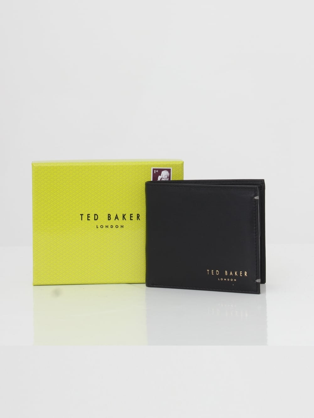 a7ad037cf021 Ted Baker Harvys Bilfold Coin Wallet in Black - Northern Threads