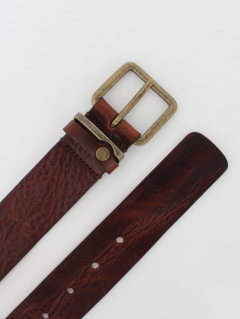 6c2b2e50f Ted Baker Katchup Leather Belt in Tan