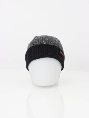 Oakhat Knitted Beanie - Charcoal