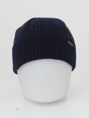 Oakhat Knitted Beanie - Navy