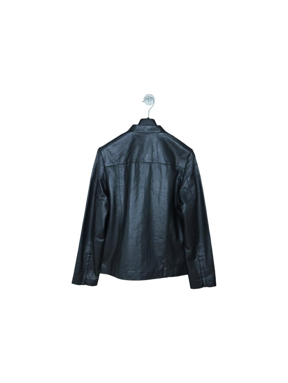 e05f1addcca5ac Ted Baker Pablo Leather Jacket - Black