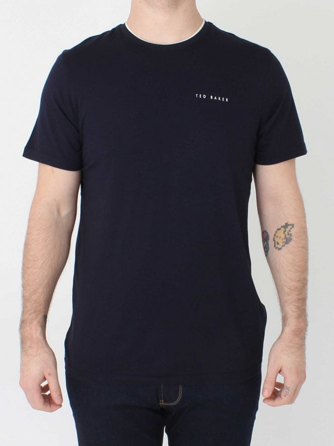 Ted Baker Rooma Logo T.Shirt - Navy