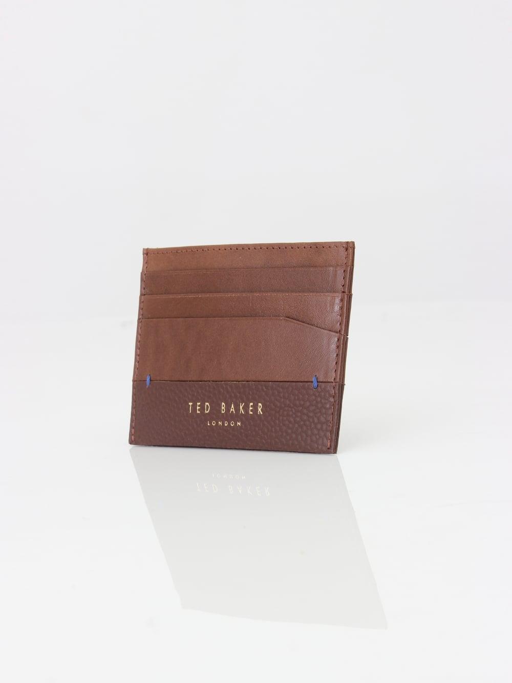 Ted Baker Card Holder Mens Wallet Brown