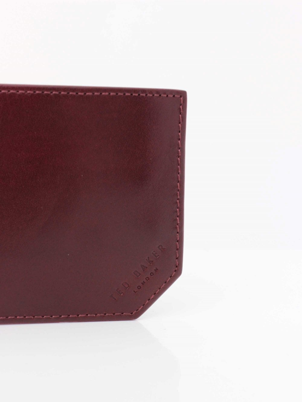 b13409274591 Ted Baker Spidey Bifold Wallet in Dark Red
