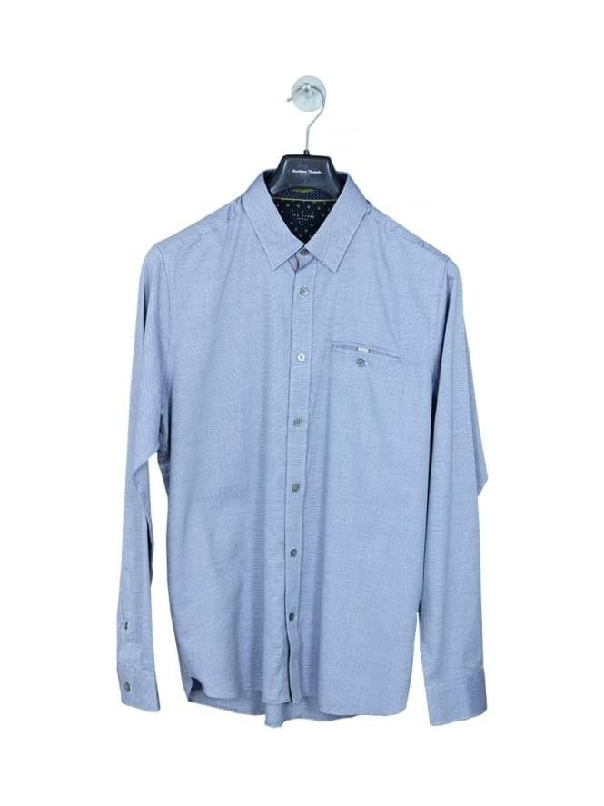 Ted Baker The Funk Oxford Shirt - Blue