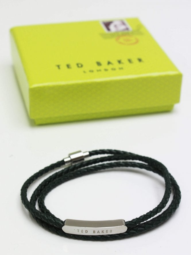 Ted Baker Triple Wrap Bracelet - Green