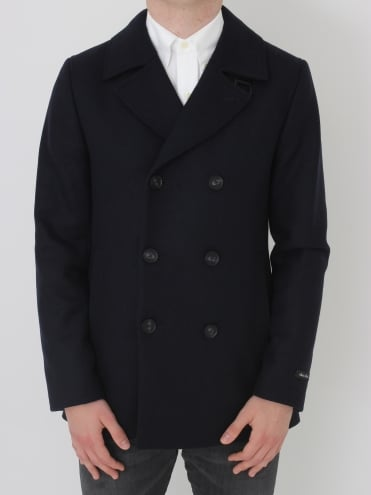 Zachary Wool Peacoat - Navy