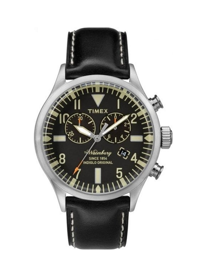 Timex The Waterbuy Chronograph - Black