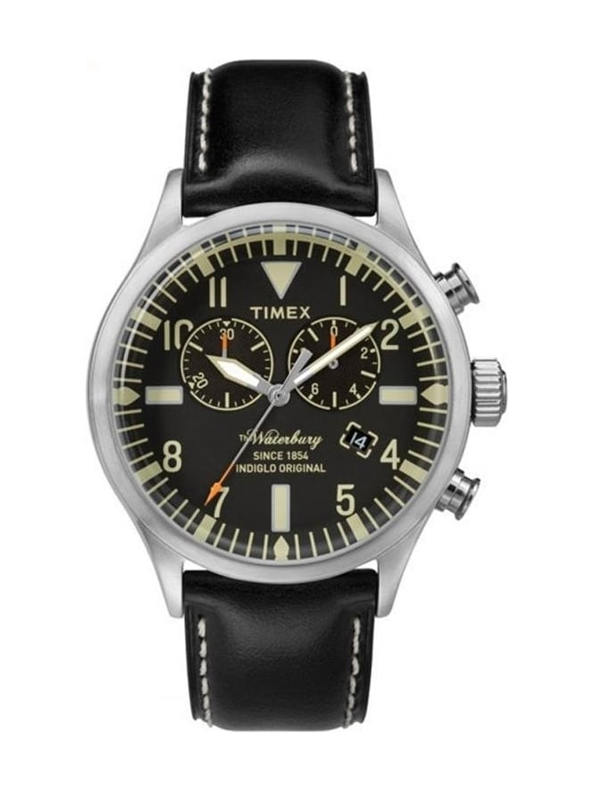 Timex Waterbury Watch - Black