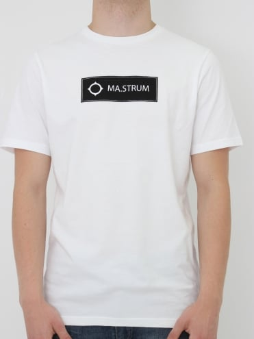 Tsar Box Logo t-shirt - Optic White