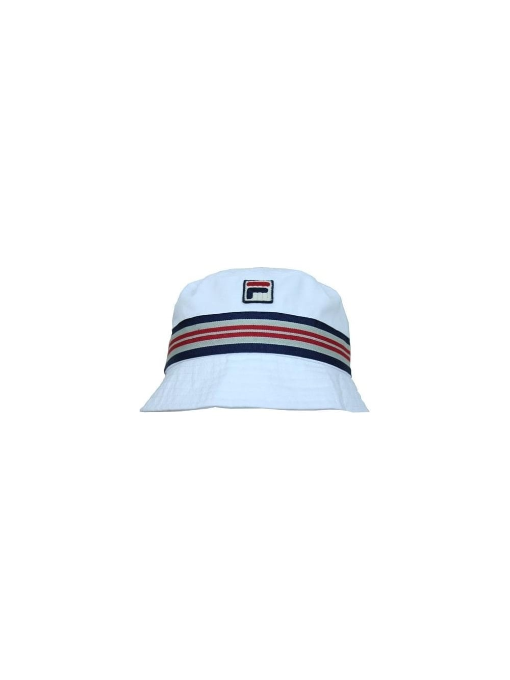 55cc0b86 Fila Casper Bucket Hat in White - Northern Threads