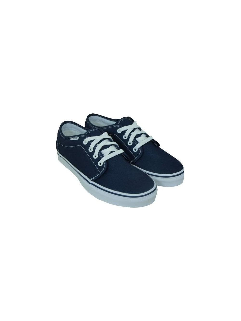 91a32fb9aa0f50 Vans 106 Vulcanized in Navy - Shop Vans at Northern Threads