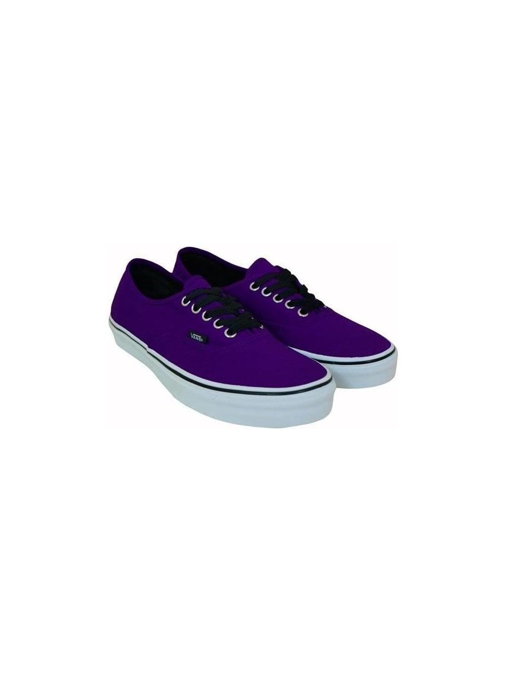 9e08893d9215 Vans Authentic Retro Plimsoll in Dark Purple - Shop Vans at Northern ...